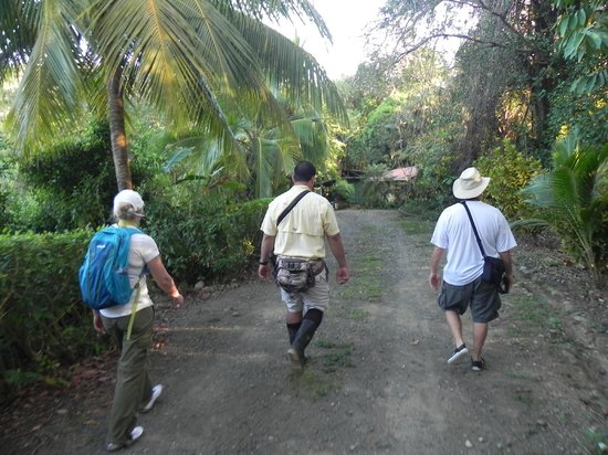 LagunaVista Villas: Off for our hike with Eric
