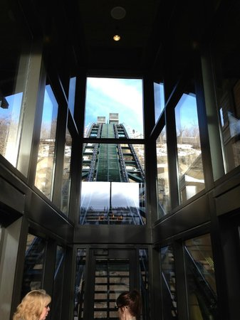 The St. Regis Deer Valley: Funicular to the St. Regis