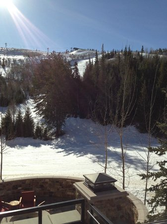 The St. Regis Deer Valley: View from the patio