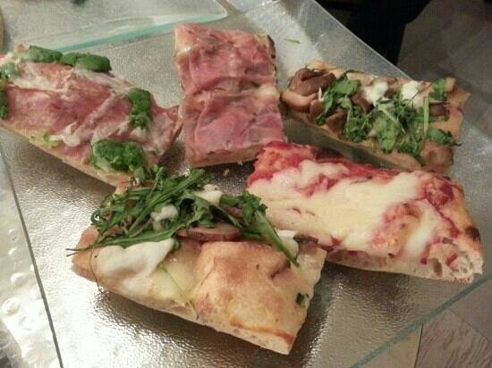 Pizza e fichi: assortiments de pizzas