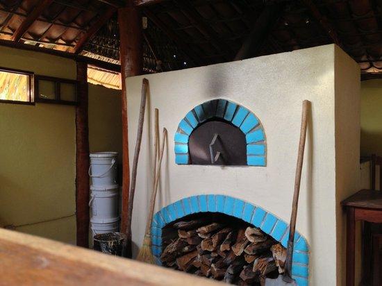 Club Surf Popoyo: pizza oven