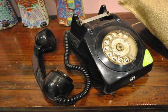 Old telephone    Brings back memories - Picture of Singapore