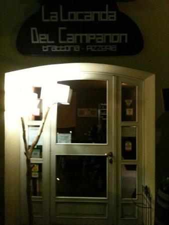 Campanon: ingresso del locale