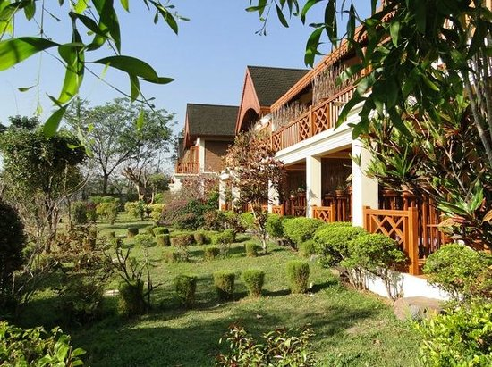 Inle Lake View Resort & Spa : chambres