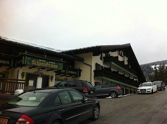 Hotel Alpenkrone - Eingang