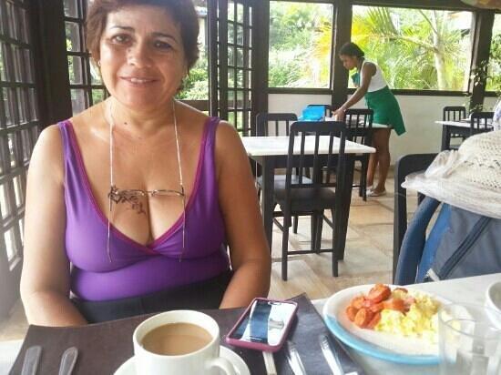 Pousada Hibiscus Beach: desayuno