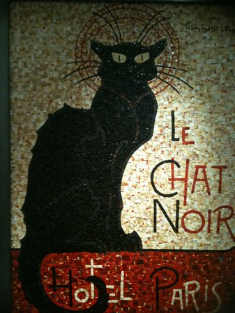 Very Comfortable Bed Picture Of Hotel Le Chat Noir