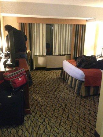 The Watson Hotel: From bathroom door into room