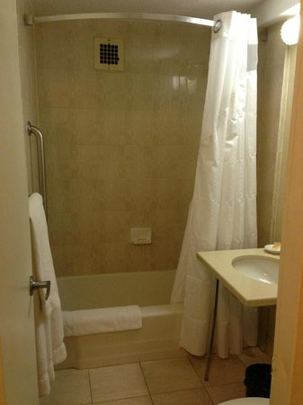 Holiday Inn Midtown / 57th St: Shower