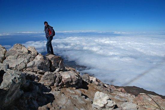 Ténérife, Espagne : Am Gipfel über allen Wolken