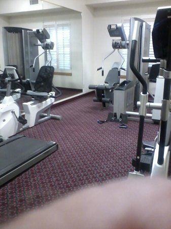 Ashmore Inn and Suites: Fitness center