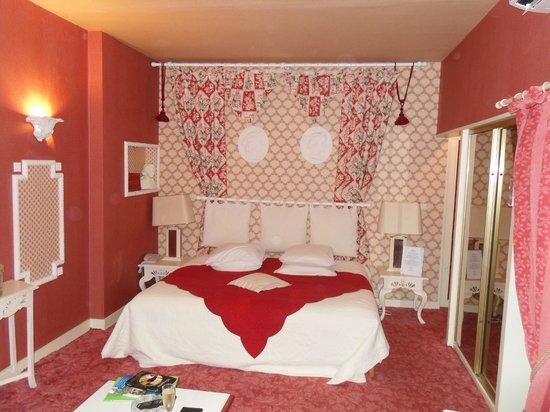 Hostellerie Saint-Jacques : La chambre