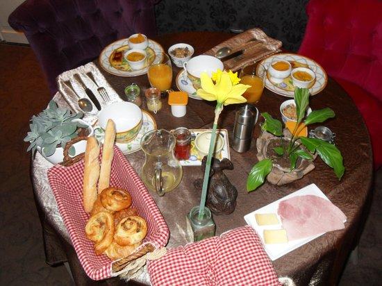 Hostellerie Saint-Jacques : Petit Déjeuner