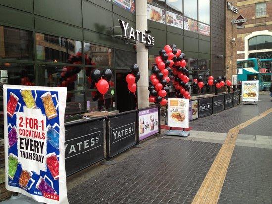 Yates's: Yates Front!