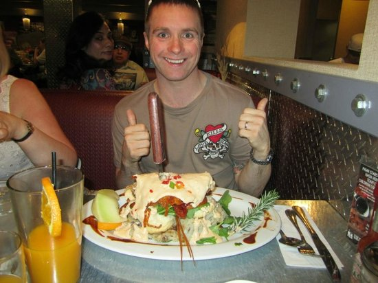 Hash House A Go Go: Man Vs Food!