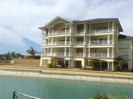 The Landings St. Lucia: Our 3 BR  unit was the entire top floor