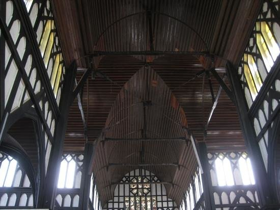 St. George's Cathedral: ceiling