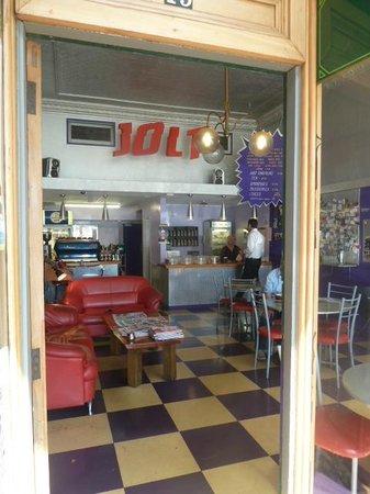 Jolt's interior