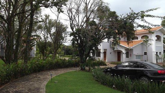 Wish Resort Foz do Iguaçu: Visão externa dos chalés