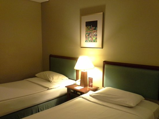 Paragon Gallery Hotel : Beds