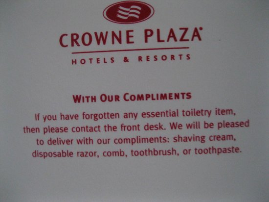 Crowne Plaza Los Angeles Harbor Hotel: sign