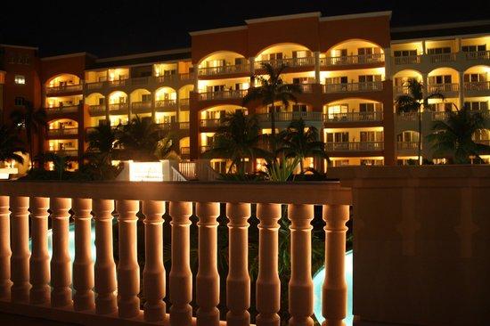 Iberostar Rose Hall Suites: So pretty at night!