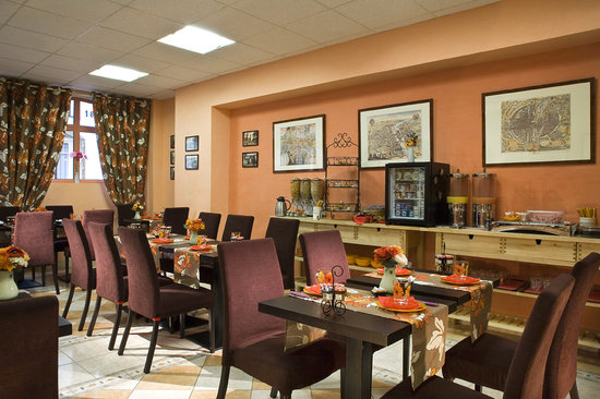 Hotel Alexandrie: Salle de Petit-déjeuner