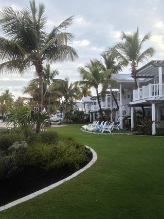 Southernmost Beach Resort: The west lawn