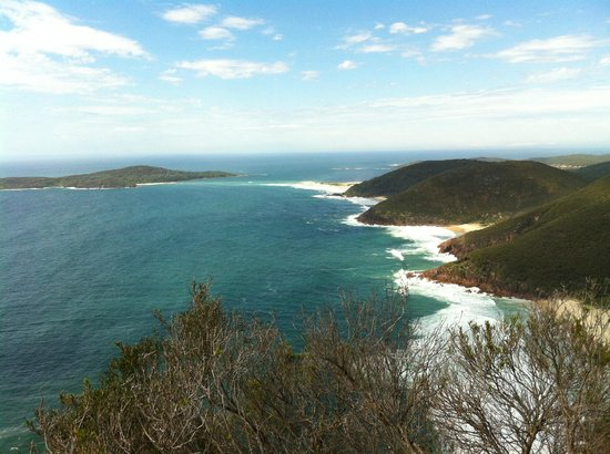 Tomaree Head: View from atop Tomaree