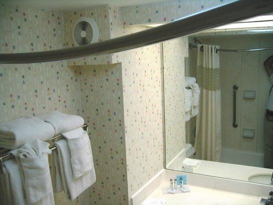 Hampton Inn Miami Dadeland : Banheiro com toalhas em abundancia limpissimas