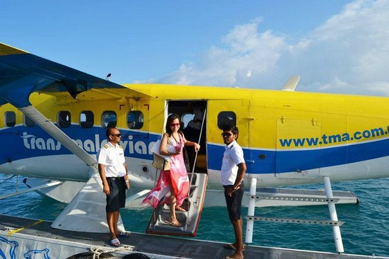 Conrad Maldives Rangali Island: departure
