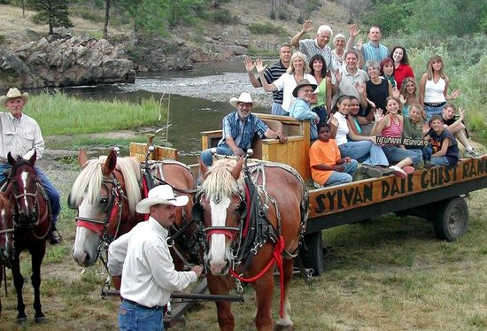 Sylvan Dale Guest Ranch: Wagon Rides and Hayrides