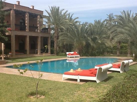 Murano Resort Marrakech: een van de 4 aparte zwembaden
