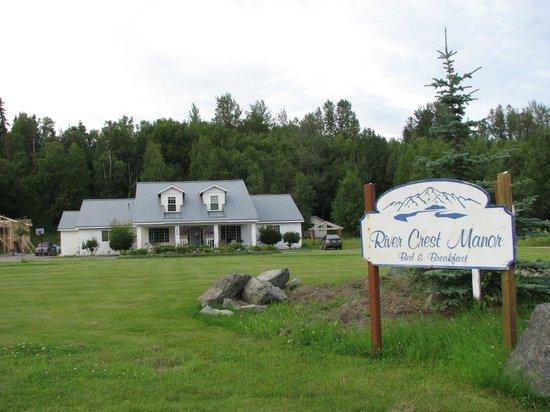 Rivercrest Manor: Our first B&B in Alaska!!