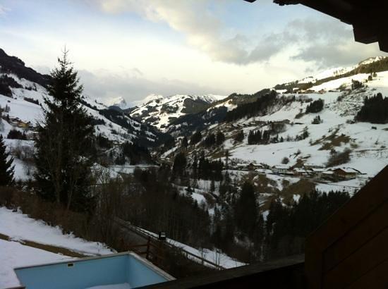 Hotel Dorfer: widok z okna