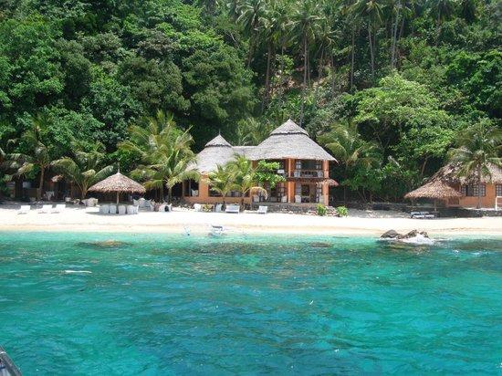 Apo Island Beach Resort The From Sea