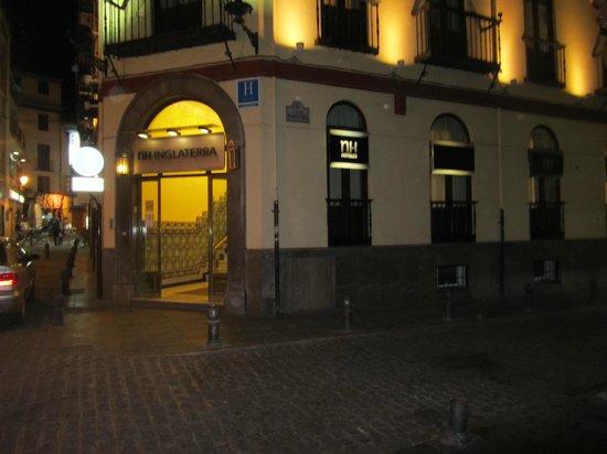 Hotel Inglaterra: Front