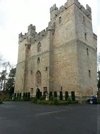 Langley Castle Hotel: castle