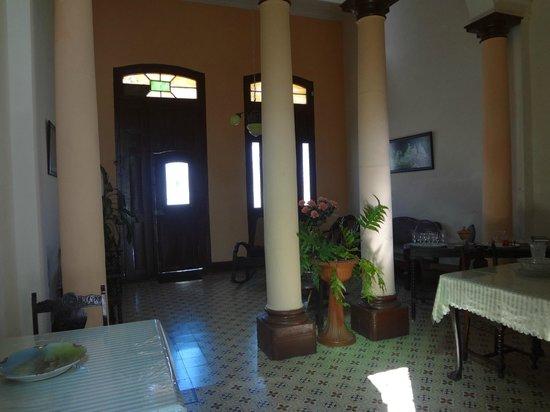 Hostal Olga: living room