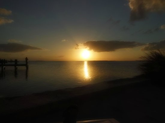 Kona Kai Resort, Gallery & Botanic Garden: Sunset from Kona Kai, Key Largo