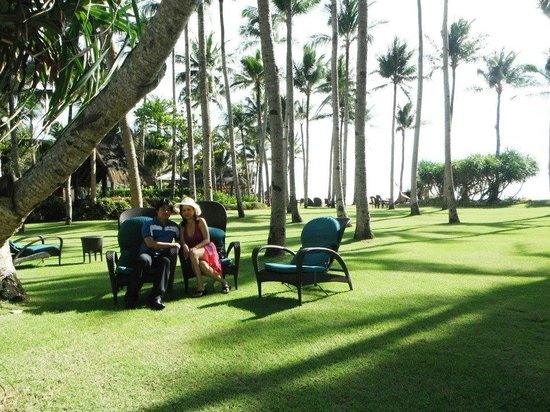 Shangri-La's Boracay Resort & Spa: hotel grounds
