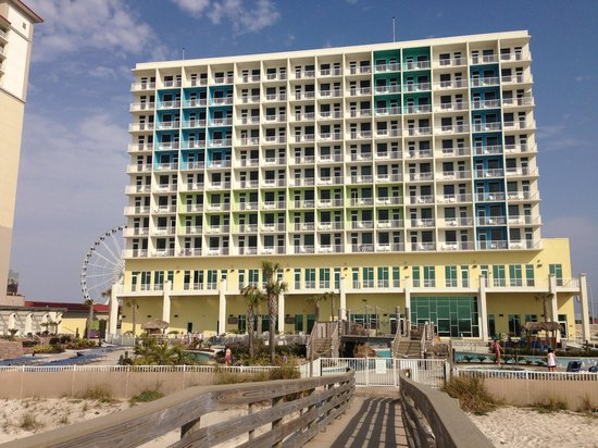 Holiday Inn Resort Pensacola Beach: From the beach
