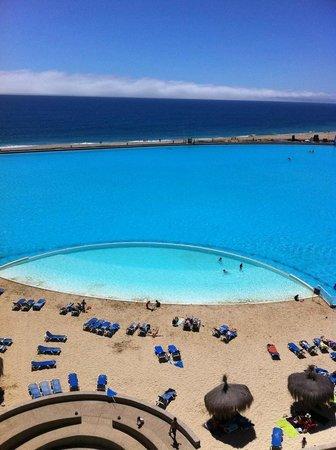 San Alfonso del Mar: Vista desde departamento