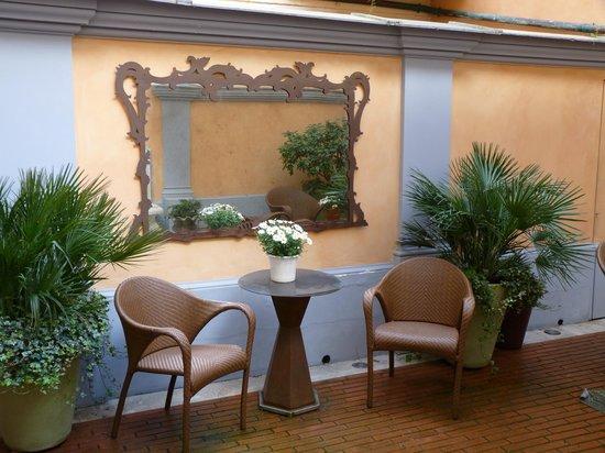 Hotel Sant Anna Roma: petit coin détente...
