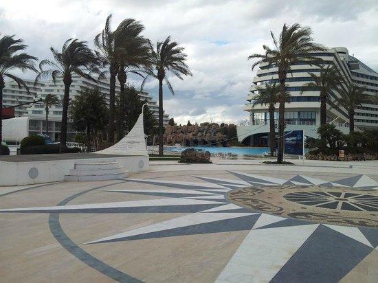 Titanic Beach Lara Hotel: View from the pool area