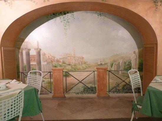 Hotel Sant Anna Roma: salle de petits déjeuners...