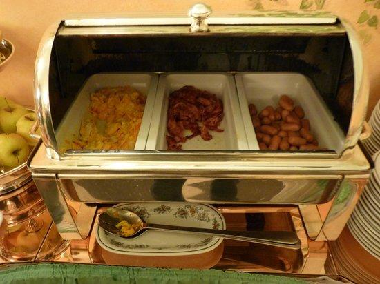 Hotel Sant Anna Roma: Oeuf/bacon/saucisses