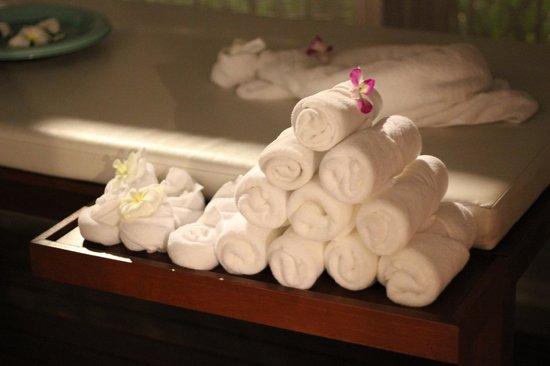 Ban Suriya: Fresh towels