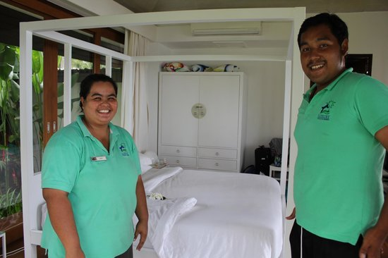 Ban Suriya: Two of the amazing staff