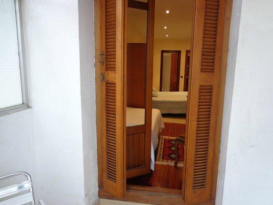 Pension Beizama : Habitación doble con balcón